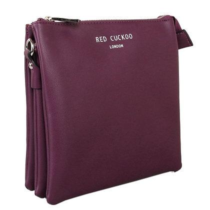 Red Cuckoo crossbody Purple 437