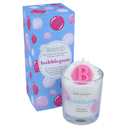 Bubblegum Glass Candle