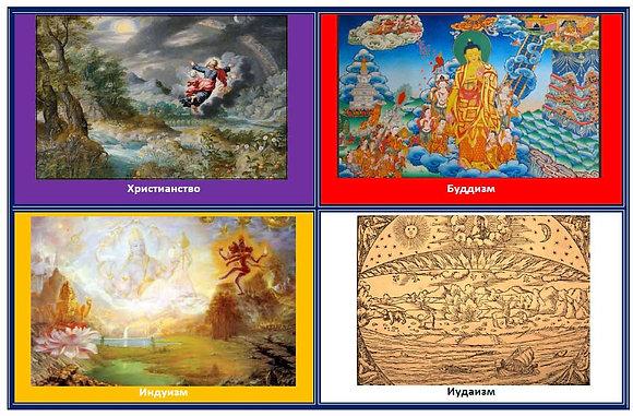Сотворение мира в разных религиях