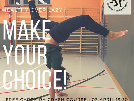 Free capoeira crash course