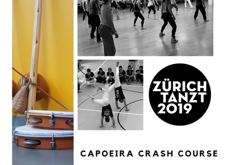 "Capoeira crash course ""Zürich-Tanzt""!"