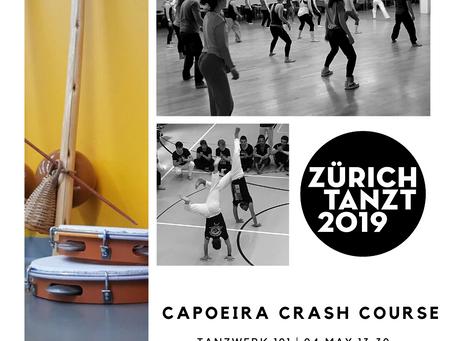 """Capoeira crash course """"Zürich-Tanzt""""!"""
