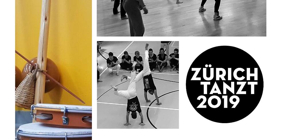 Capoeira crash course Zürich Tanzt