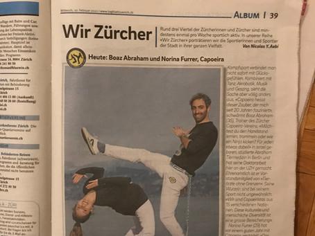 Newspaper article: Wir Zürcher