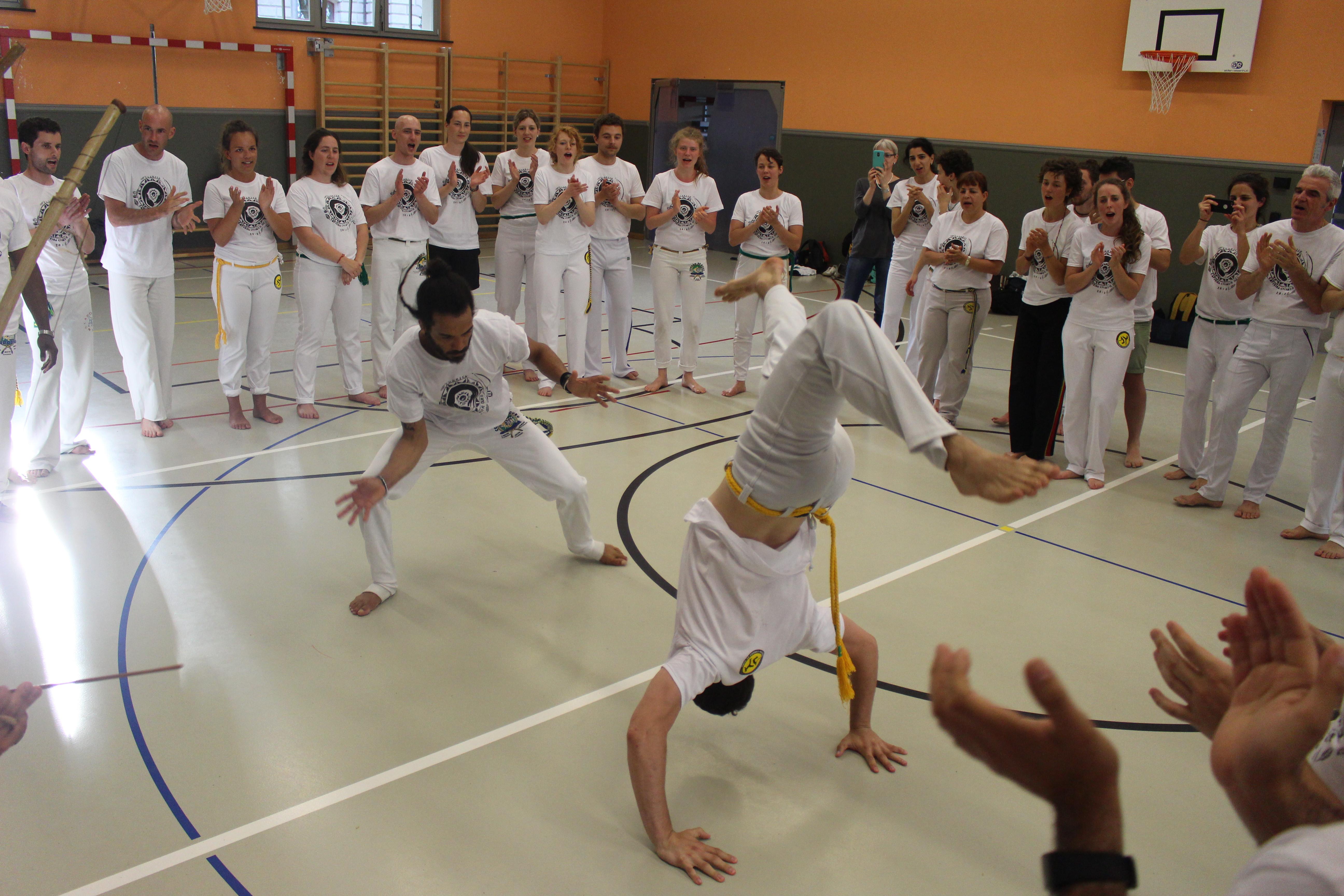 Capoeira for advanced
