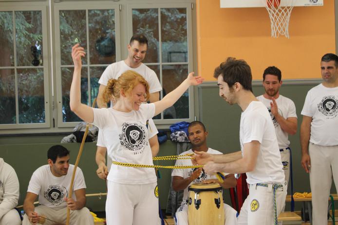 Swiss Center for Capoeira, Capoeira CDO Zürich, Workshop 2018: Troca de Cordao