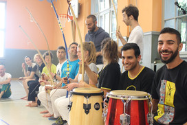 Swiss Center for Capoeira, Capoeira CDO Zürich, Workshop 2018: Batteria