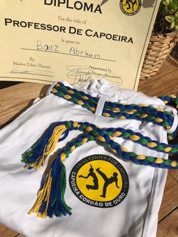 Trainer diplome, Capoeira workshop 2019, Zürich