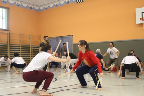Swiss Center for Capoeira, Capoeira CDO Zürich, Workshop 2018: Maculele