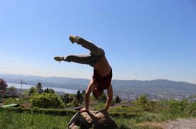 Swiss Center for Capoeira, Capoeira CDO Zürich, Workshop 2018: Handstand