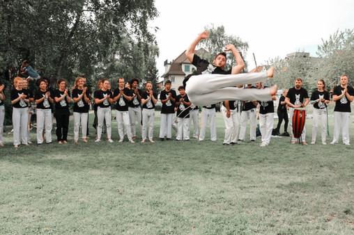 Akrobatik in der Capoeira, Zürich