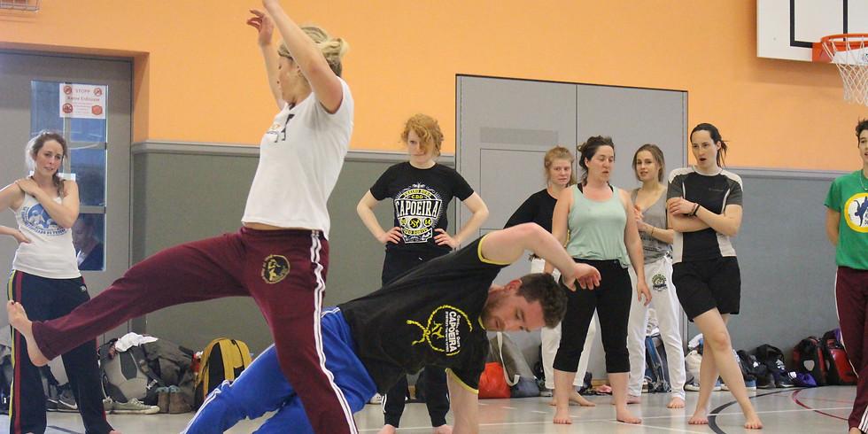 Capoeira in Hebrew, Zürich