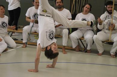 Swiss Center for Capoeira, Capoeira CDO Zürich, Workshop 2019: Handstand