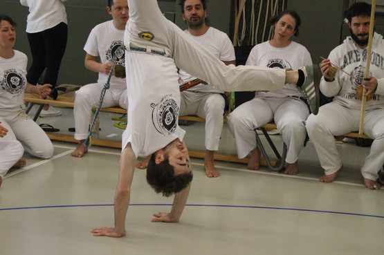 Swiss Center for Capoeira, Capoeira CDO Zürich, Workshop 2019: Handstand