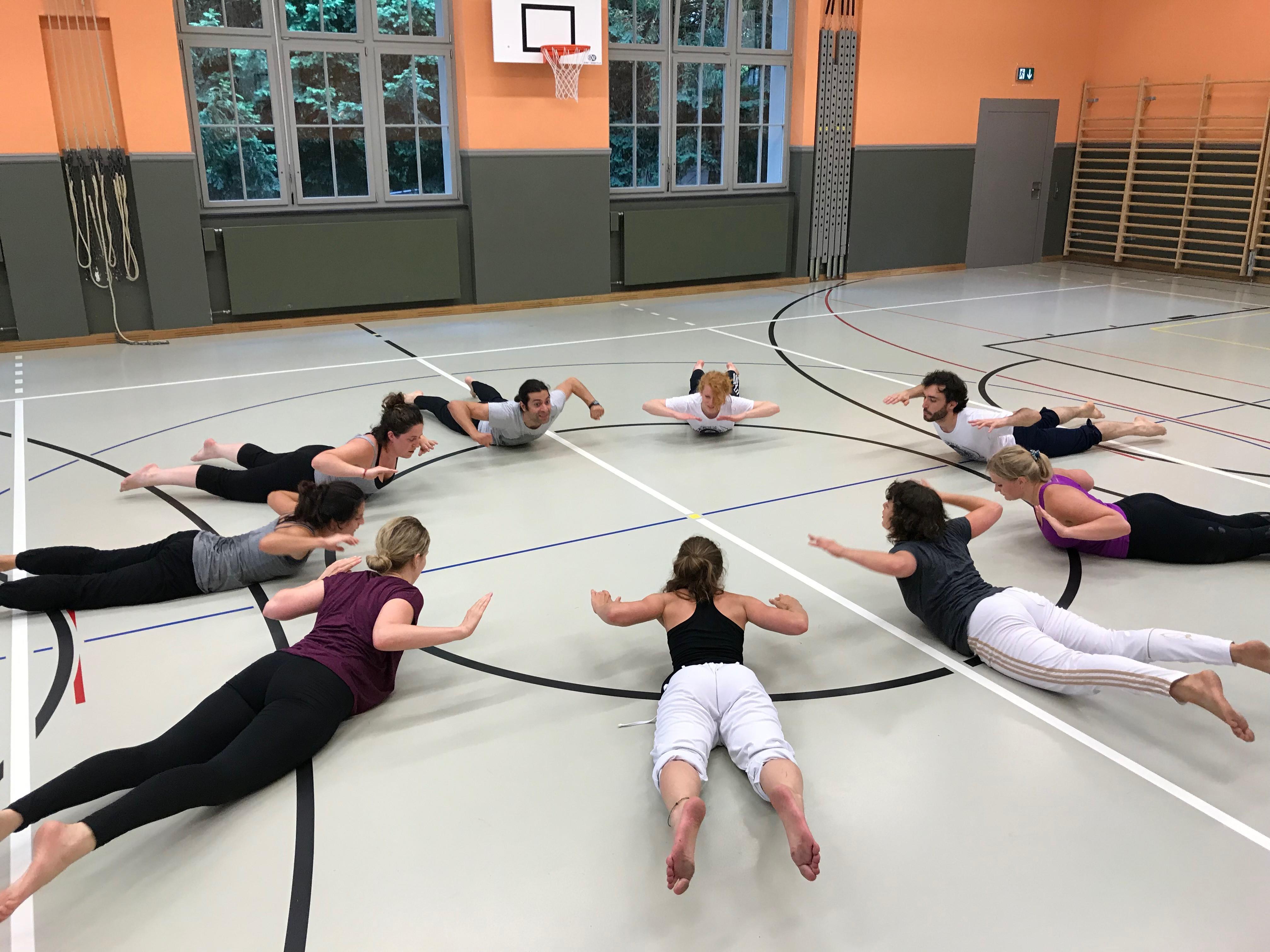 Capoeira fitness