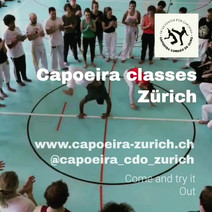 Swiss Center for Capoeira, Capoeira CDO Zürich, Workshop 2019: Roda
