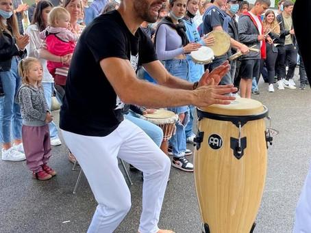 Capoeira show für Kinder