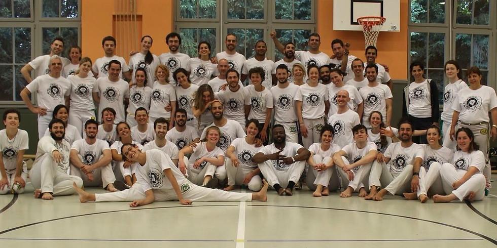 Annual capoeira workshop & belt ceremony