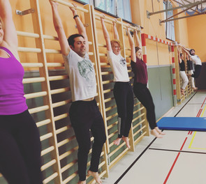 Training & smiling, Swiss Center for Capoeira, Zürich