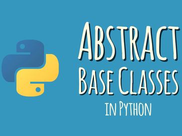 Defining an Abstract base class using Python's abc module