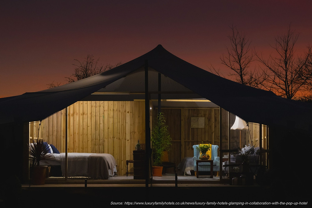 Glamping at Woolley Grange - Luxury Family Hotels