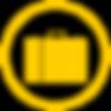 Breifcase Icon Yellow