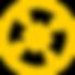 Compass Icon Yellow