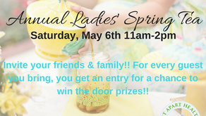 Annual Ladies' Spring Tea