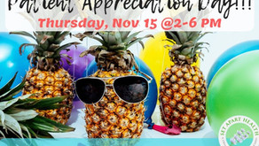Patient Appreciation Day is today!