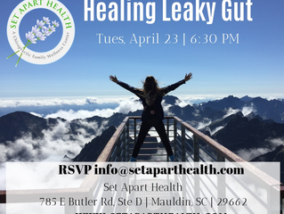 Join us for our Healing Leaky Gut Event!