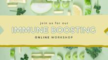 Online Immune Boosting Workshop