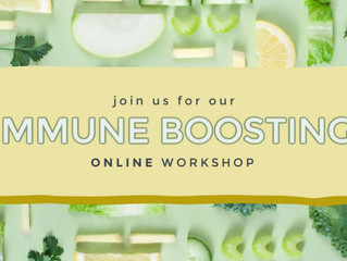 Online Immune Boosting Workshop