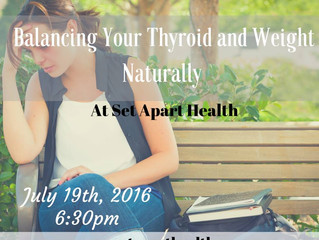 Balancing Your Thyroid, Hormones, and Weight Naturally