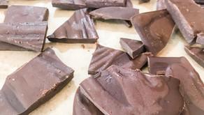 Keto Chocolate Sea Salt Caramel Bark