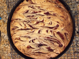 Happy Birthday White Chocolate Raspberry Cheesecake