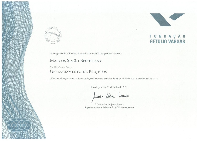 FGV-FUNDAÇÃO GETÚLIO VARGAS