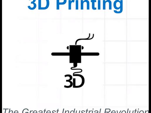 3D PRINTING -Tecnologia Disruptiva                                                   revolucionária
