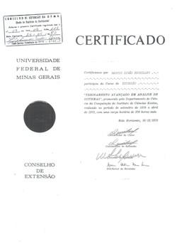 UFMG-UNIVERSIDADE FEDERAL DE MG