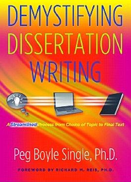 Demystifying your dissertation