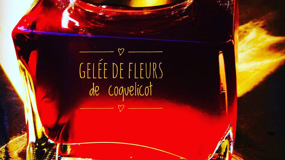 Gelée de fleurs de coquelicot-350 gr