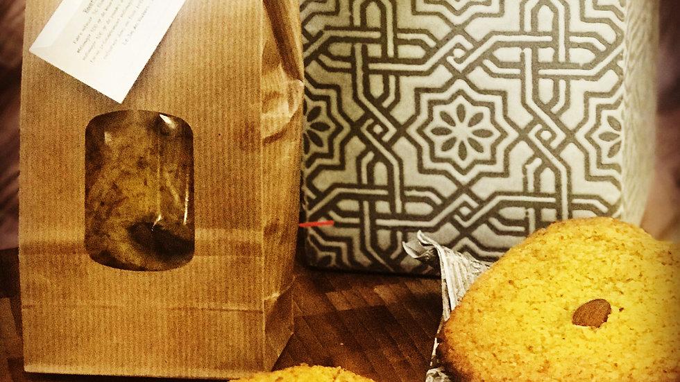 Cookies amandes safran