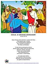 Jesus, o grande semeador (Lucas, 8-9-15)