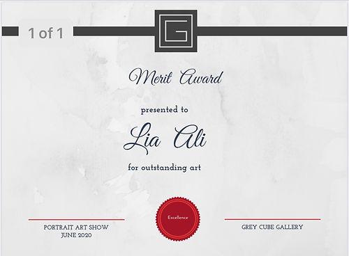 Merit Award