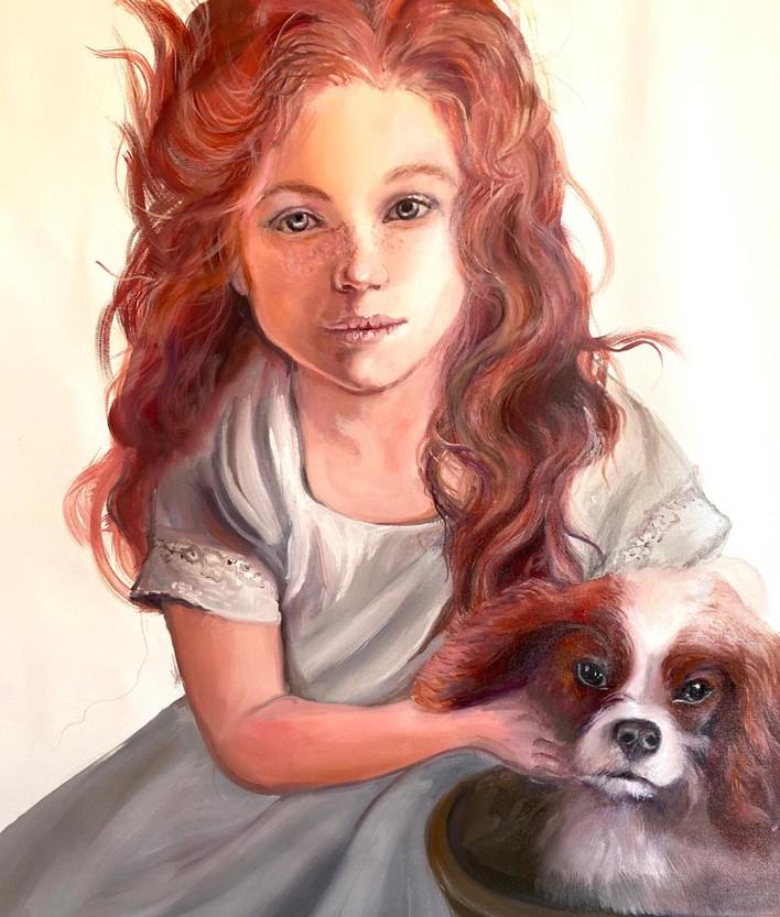 Molly's portrait