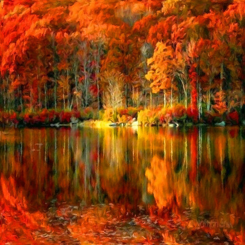 Autumn touch