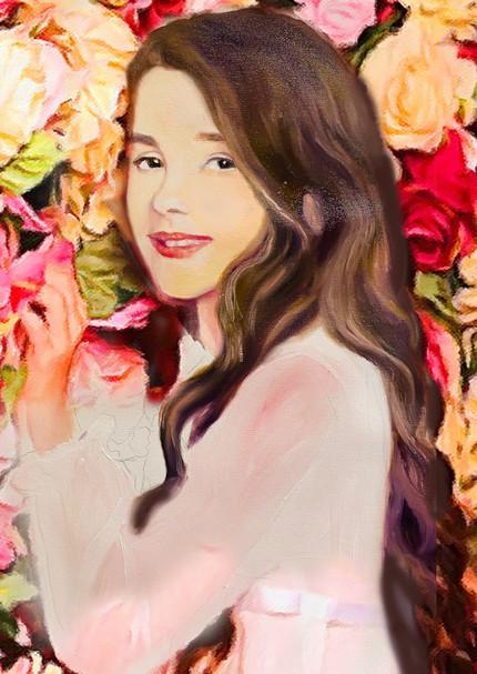 Kaya's portrait