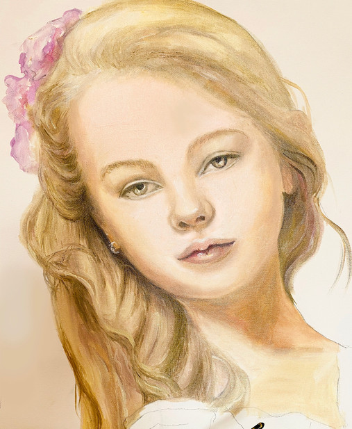 Lilly's portrait
