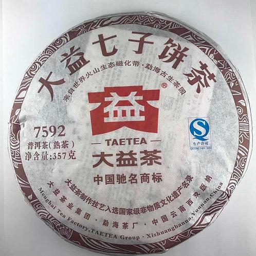 大益七子餅茶 7592 普洱茶