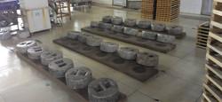 伝統古式の石磨手工