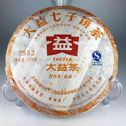 大益七子餅茶 7552 普洱茶